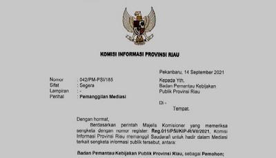 LSM BPKP Tolak Mediasi dengan Pemko Pekanbaru Apabila Sekda Tidak Hadir