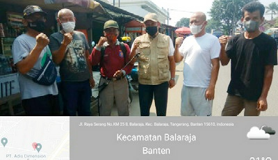 PPKM Darurat, Penyemprotan Disinfektan Gencar Dilakukan di Kawasan Industri Balaraja Tengerang