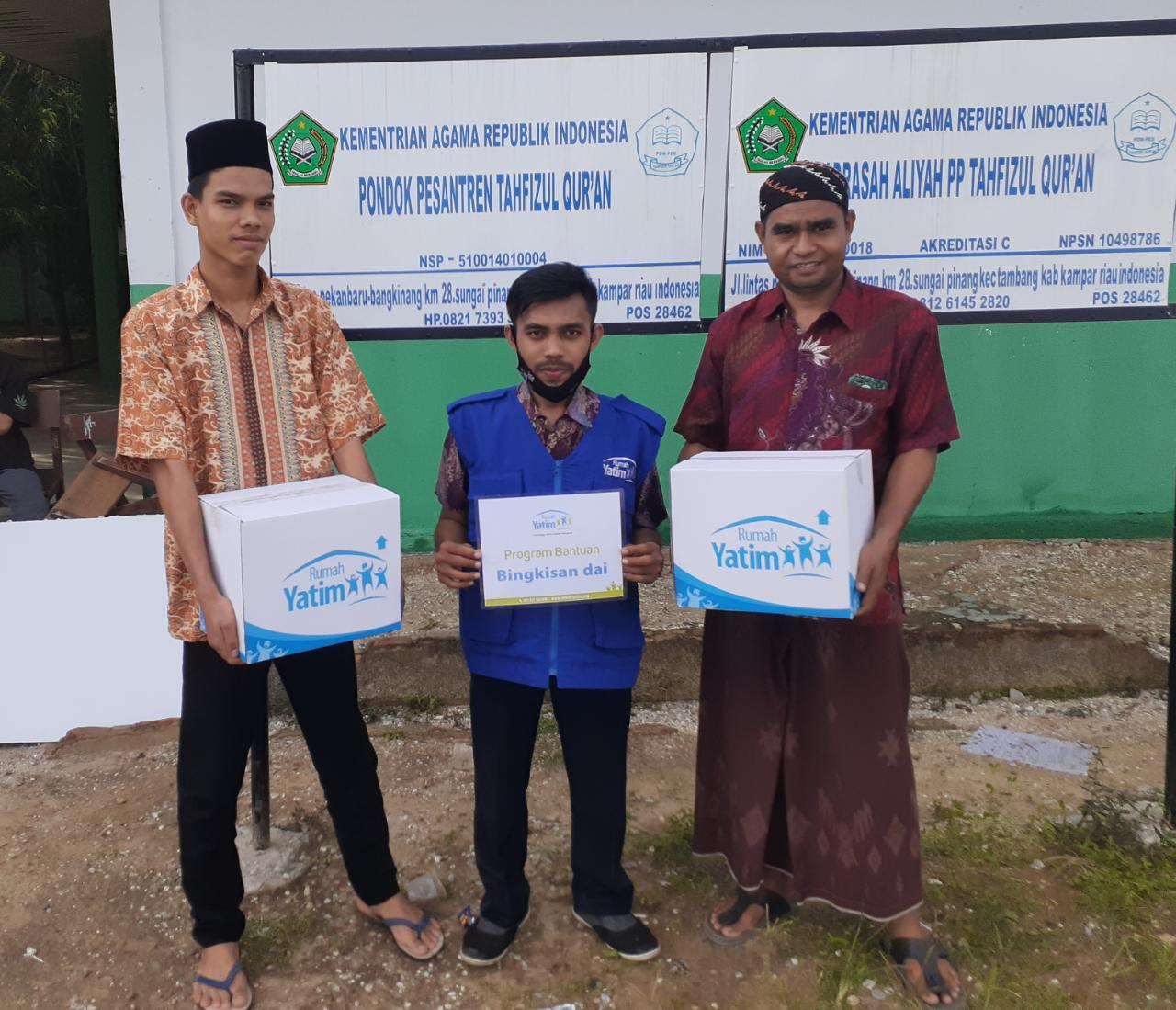 Rumah Yatim Berbagi untuk Ponpes Tahfizul Quran