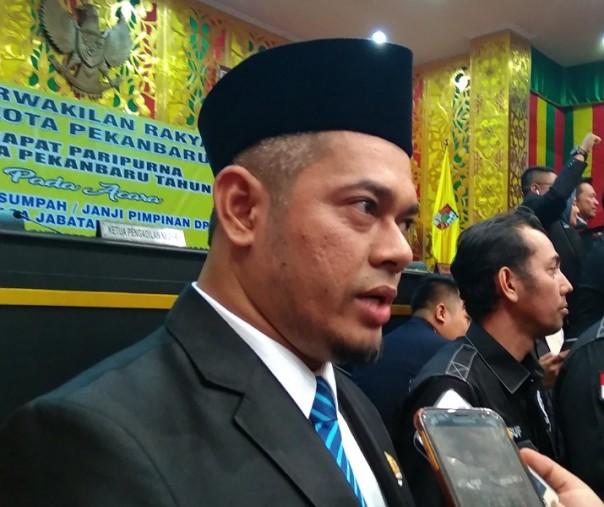 Ketua DPRD Pekanbaru Minta Pemko Tegas Tindak pelanggar Aturan IMB/PBG