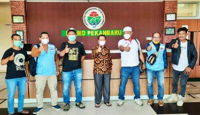 Pengurus DPD APPI Riau Kunjungi BLM Pekanbaru