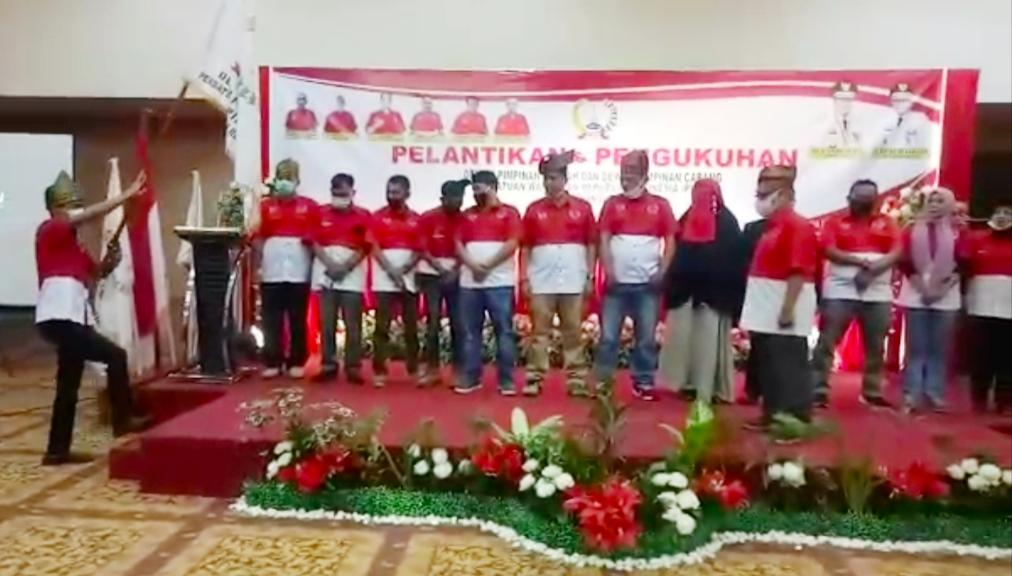SAH!! DPD dan DPC PWRI Se-Riau Resmi Dilantik