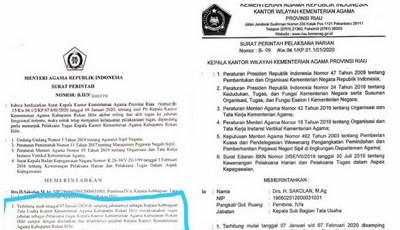 Ada Apa dengan Mahyudin? Copot Mendadak dua Kader NU dari Plt Kakemenag