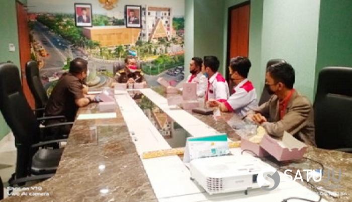 Komitmen Berantas Korupsi, DPW Lira Riau Audensi ke Kejati