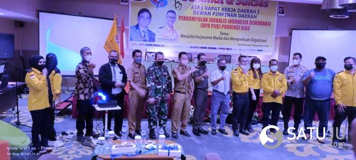 DPD PJID Riau Sukses Gelar Rakerda Pertama