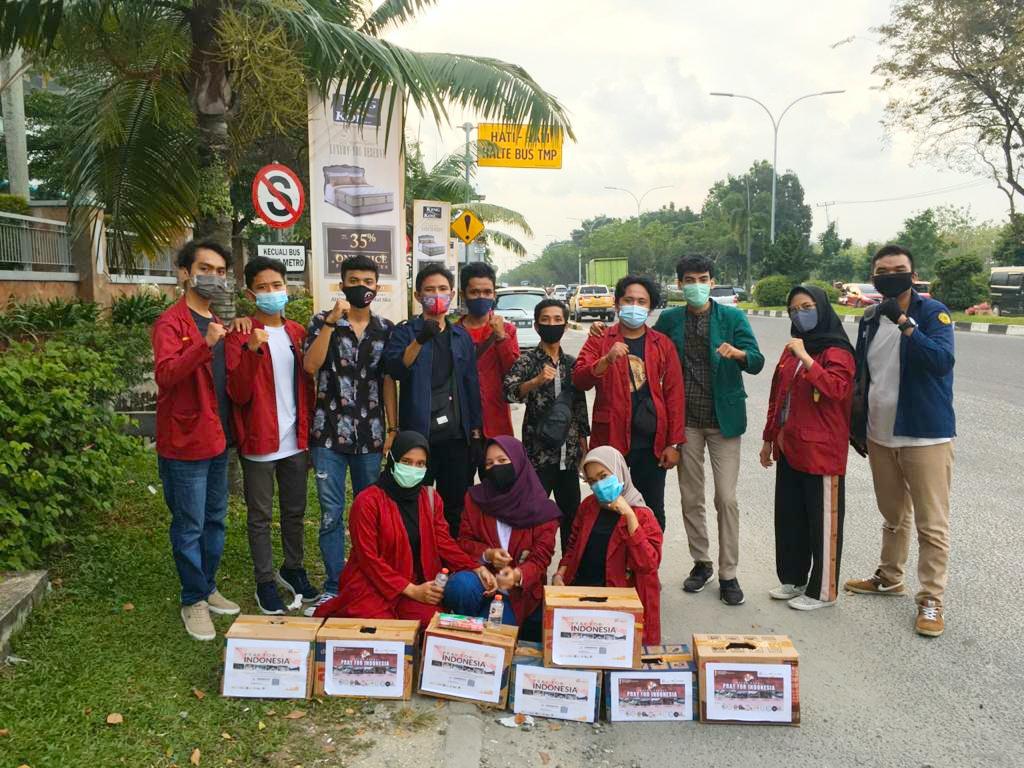 Kader IMM Se-Kota Pekanbaru Lakukan Penggalangan Dana Untuk Korban Bencana Alam