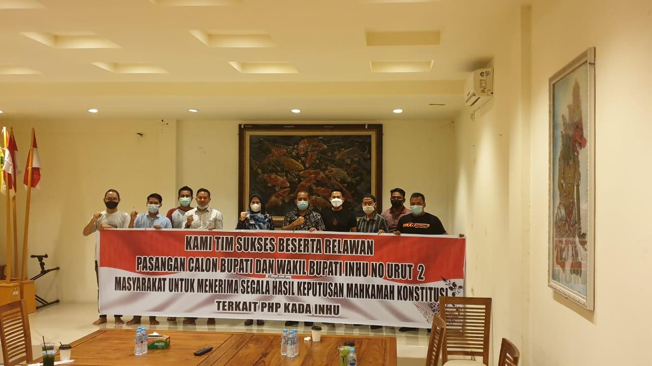 Pilkada Serentak Sudah Usai, Pendukung di Ajak Untuk Menerima Putusan MK