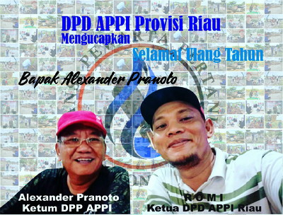 T, Rusli Ahmad Rayakan Ultah Ketua DPP APPI, Alexander Pranoto di RA Kopi Aren Palas