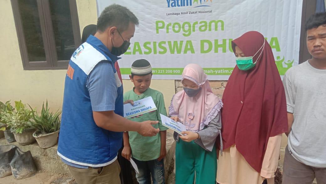 Bantuan Pendidikan Rumah Yatim untuk Yatim dan Dhuafa Pekanbaru Riau