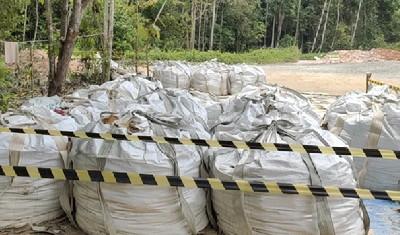 Pembersihan Sisa Limbah Minyak Bumi PT CPI di PLG Minas Asal-asalan