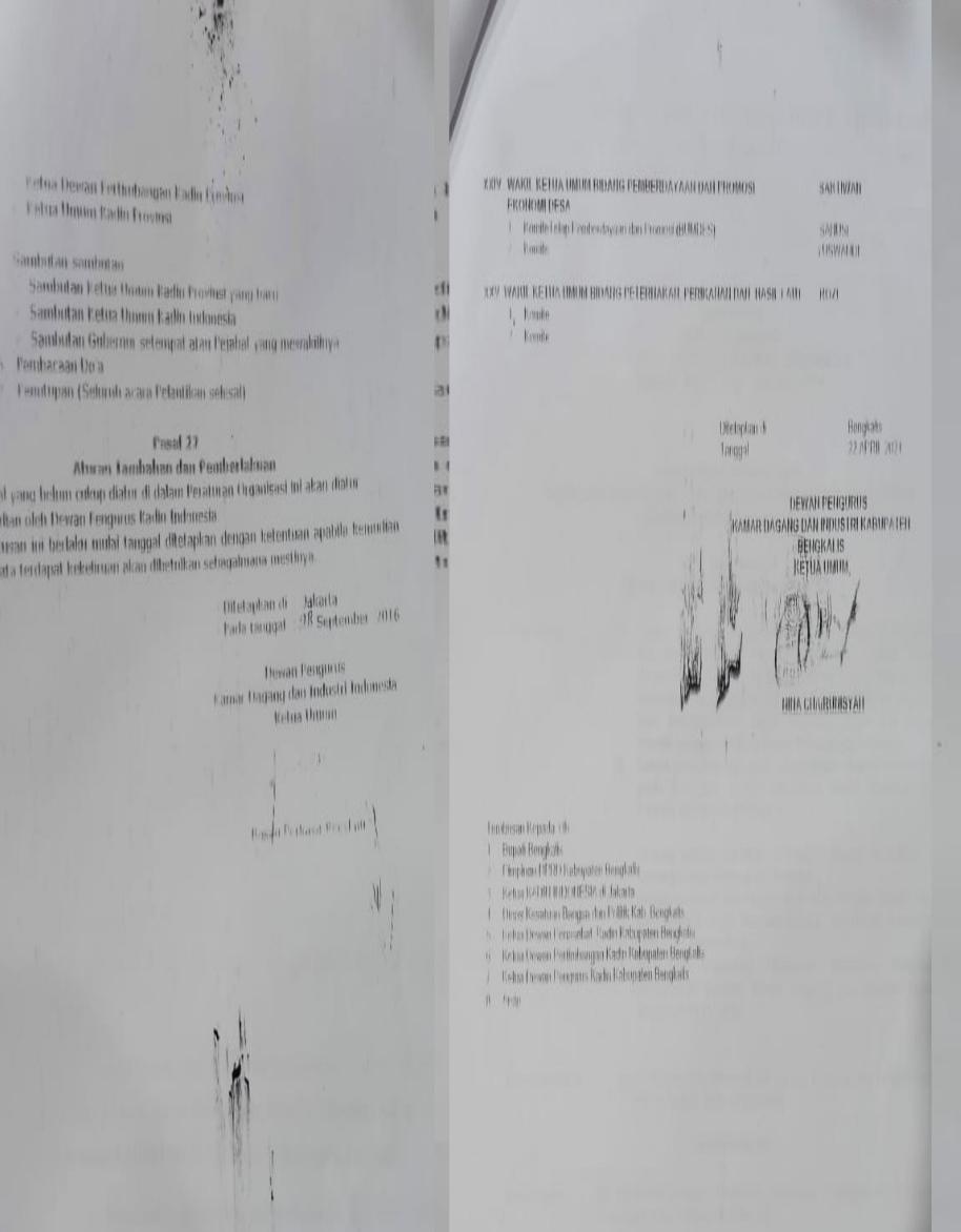 SK Kadin Bengkalis Dicatut untuk Minta Minuman Kaleng, Masuri: ini Sangat Hina