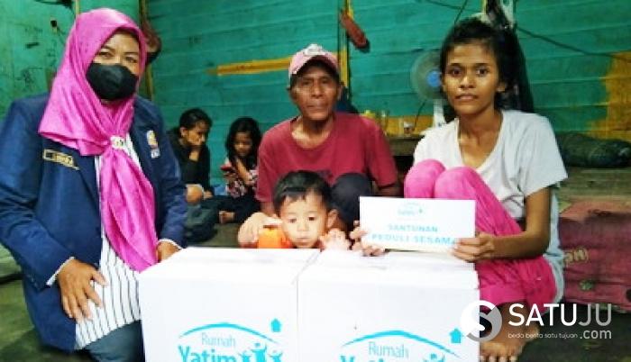 Rumah Yatim Riau Bantu Ringankan Beban Pipih, Ibu Tunggal yang Berjuang Lawan TBC