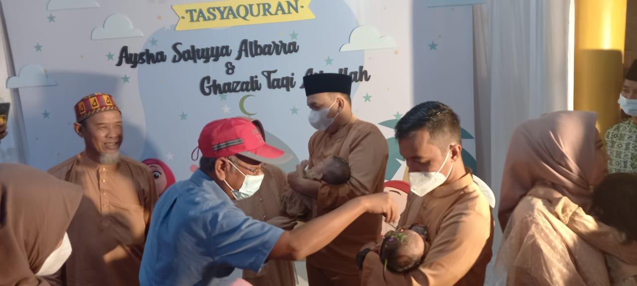 Hadiri Akikah Cucu Haji Sahrin, Ketum APPI: Selamat Haji Sahrin