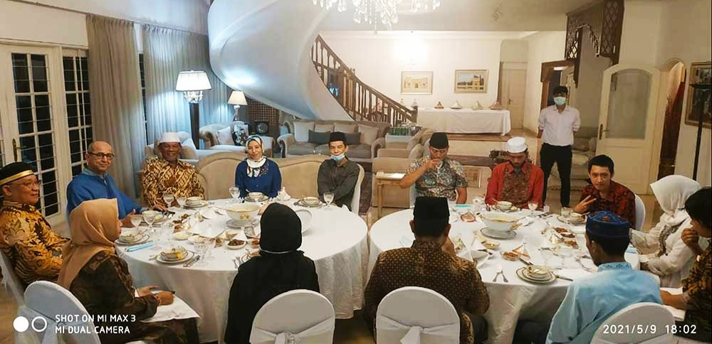 Dubes Maroko Terima Kunjungan Silahturahmi PPWI