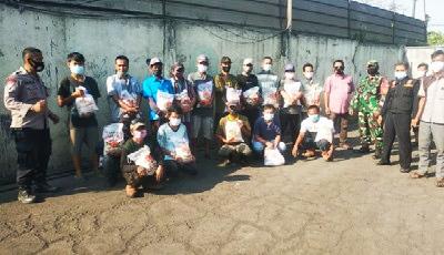 Bantuan Sosial Diwilayah Desa Pangedegan Pasar Kemis