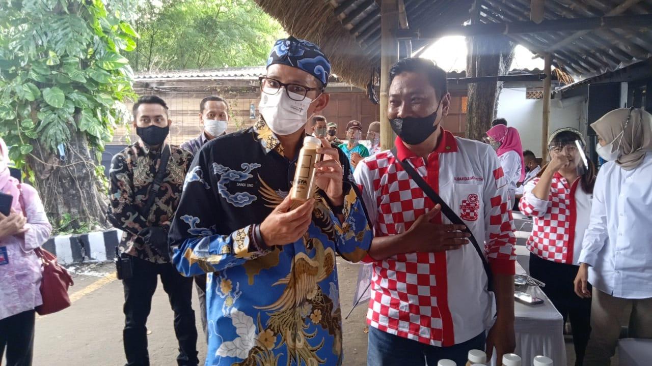 Solmet hadiri Pertemuan Pelaku Usaha Pariwisata dan Ekonomi Kreatif bersama Menparekraf di Cirebon
