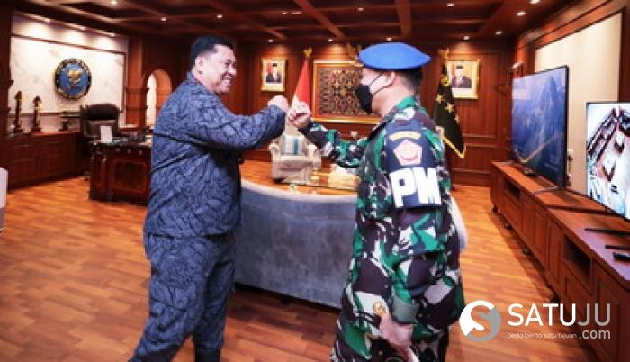 PUSPOM TNI MENDUKUNG BNN RI DALAM PEMBERANTASAN NARKOTIKA