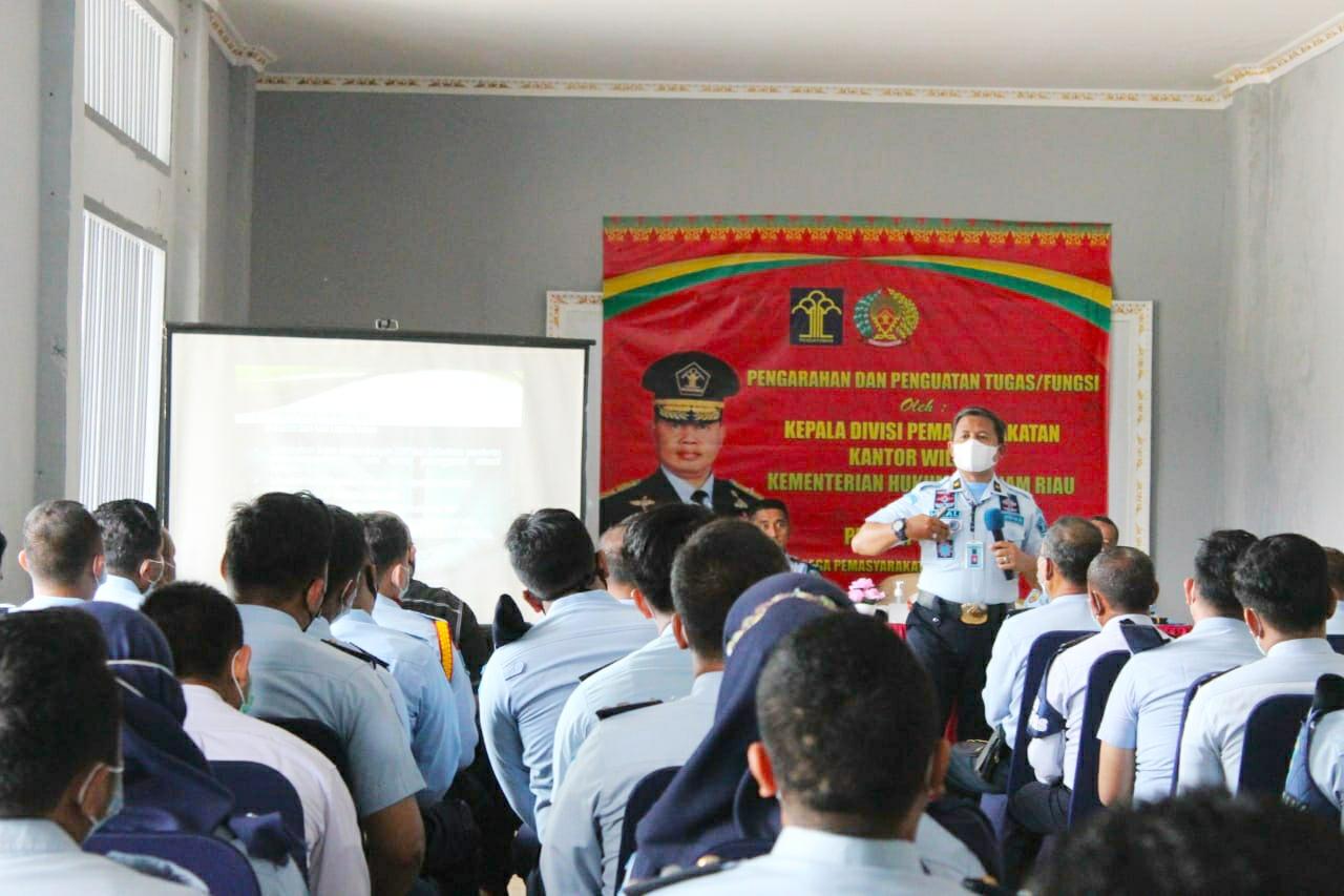Tingkatkan Pelayanan Kepada Masyarakat, Kadiv Pas Riau Kunker ke Lapas IIA Bengkalis