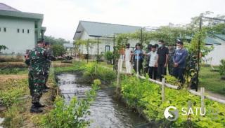 Kodim 0321/Rohil Beri Edukasi Pertanian dan Perikanan ke Masyarakat