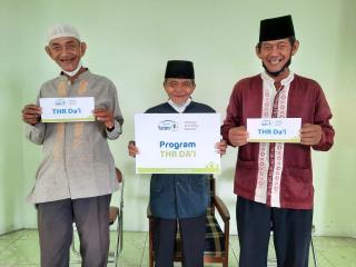 Rumah Yatim Berikan Program Bantuan THR Da'i untuk Para Mubaligh